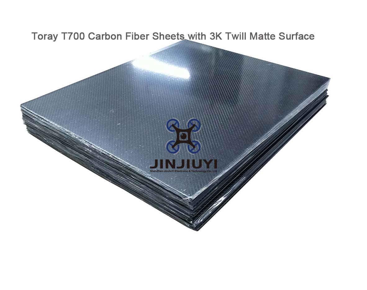 High strength Toray T700 Carbon Fiber Sheets, Best Quality Carbon